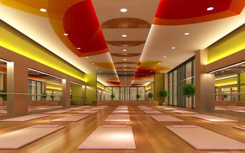 和平区健身房工装装修效果图欣赏