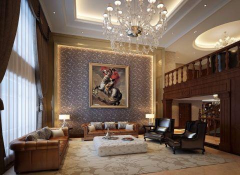 小巧玲珑客厅欧式平面图