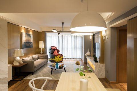 干净客厅现代简约家装设计