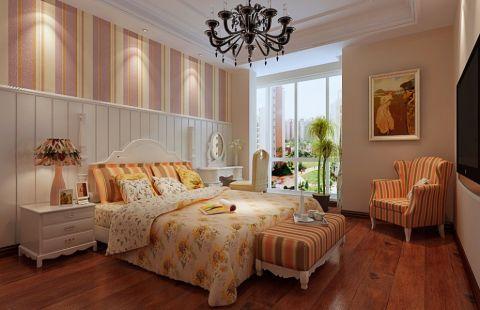 2019美式卧室装修设计图片 2019美式吊顶图片