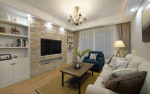 简美式两居室实用设计