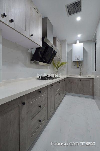 厨房白色吊顶简约风格装饰图片