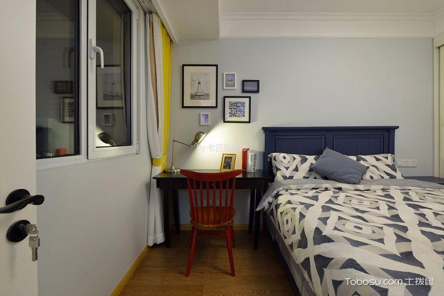 儿童房 窗台_大通蓝湾简约风格三居室装修效果图