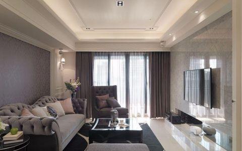 新古典风格三居室家装案例图片