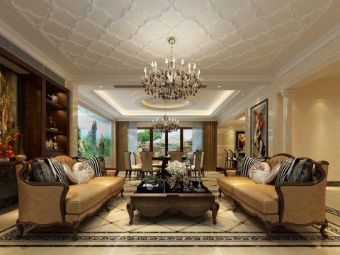 海鸥岛670平方独栋别墅欧美风格设计效果