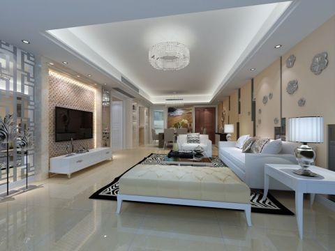 东海国际公寓140平方现代风格装修