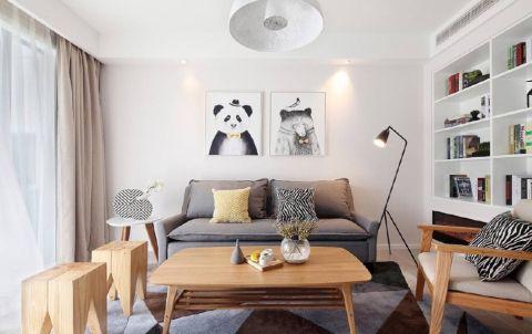 2021简约100平米图片 2021简约二居室装修设计