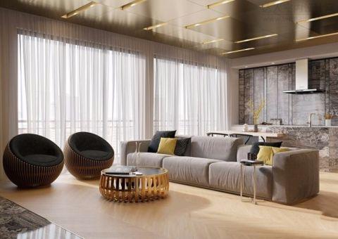 现代公寓设计效果图