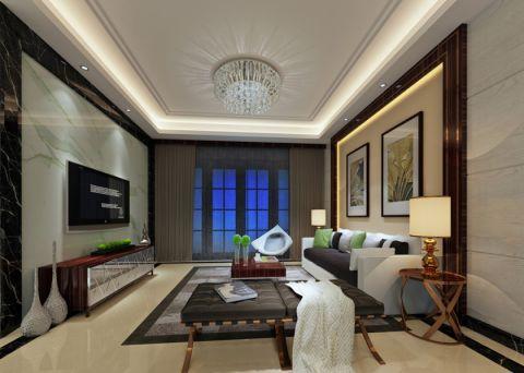 桃源居100平方三房现代风格装修设计