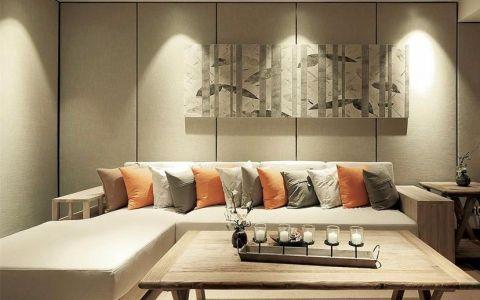 新中式风格三居室家装案例图片