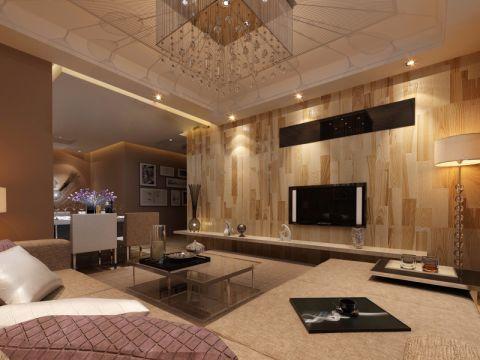 2021现代110平米装修图片 2021现代三居室装修设计图片