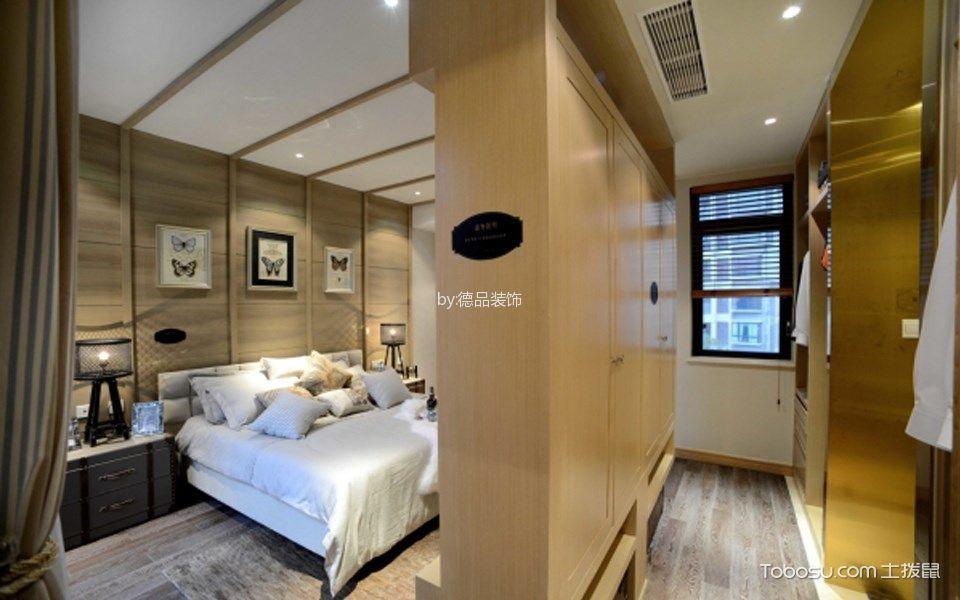 卧室米色走廊现代简约风格装潢效果图