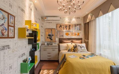 卧室新古典风格效果图