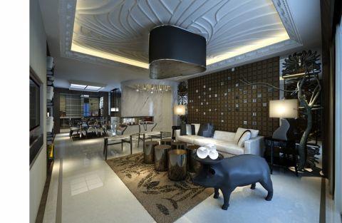九锦台现代风格4居室装修效果图