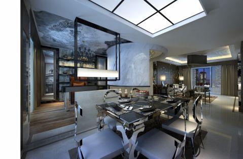 餐厅隔断现代风格装潢效果图