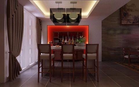 餐厅中式风格装潢效果图