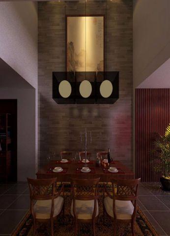 餐厅中式风格装潢图片