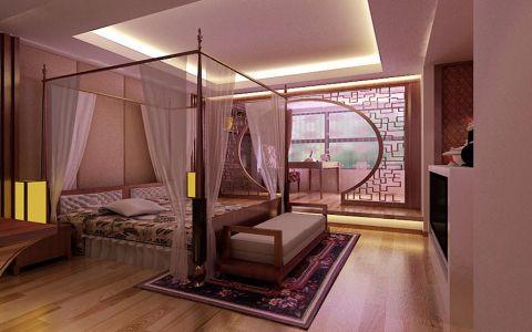 卧室中式风格装修设计图片