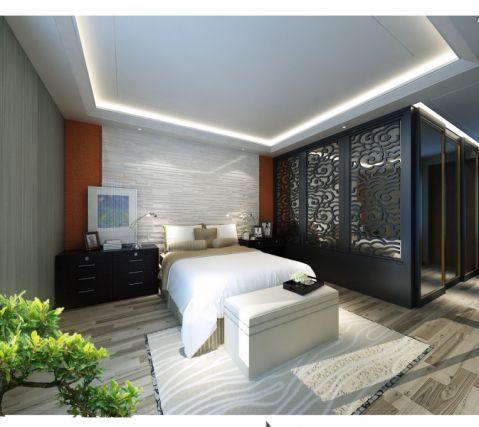 卧室隔断混搭风格装饰图片