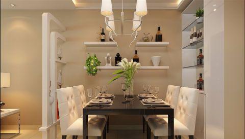餐厅现代简约风格装修图片