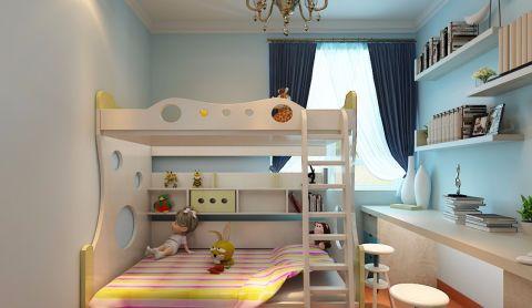 儿童房现代简约风格装饰效果图