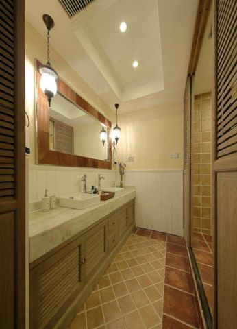 卫生间吊顶日式风格装潢设计图片