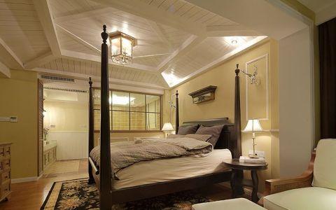 卧室吊顶日式风格效果图