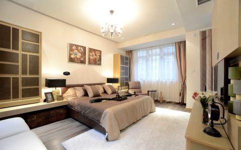 卧室照片墙简欧风格装潢图片