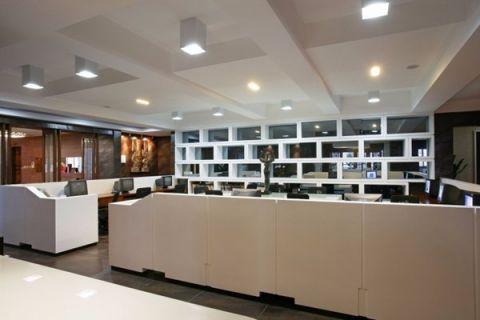 50万设计公司新办公室装修效果图
