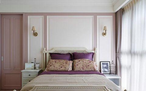 春森彼岸清新美式风格三居室装修图片