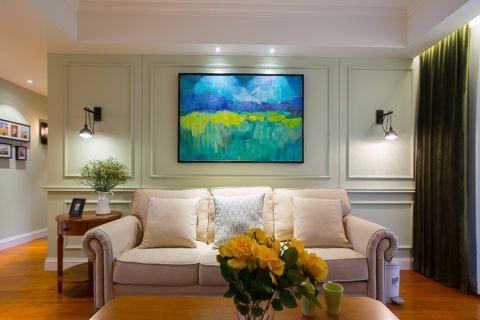 2021美式90平米效果图 2021美式三居室装修设计图片