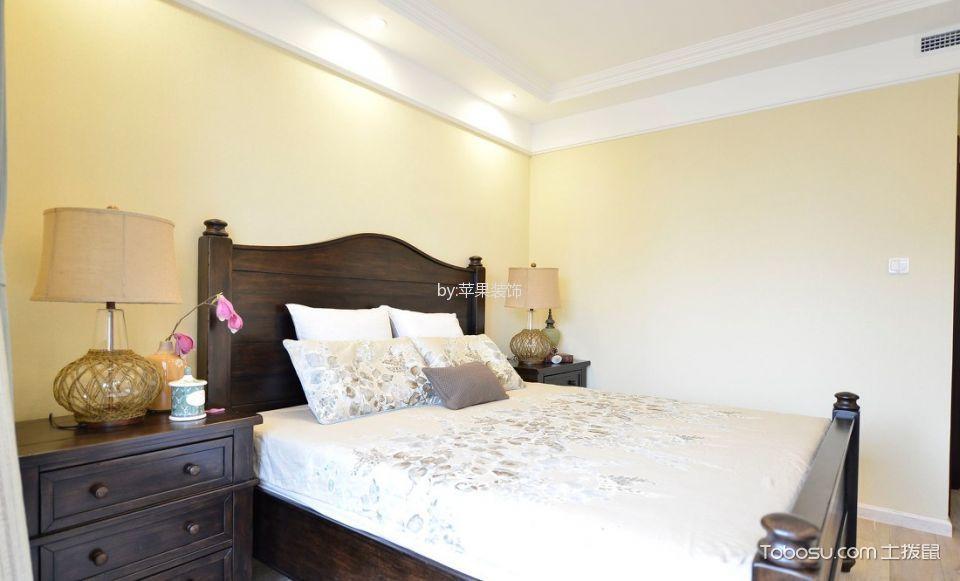 2020美式卧室装修设计图片 2020美式床图片