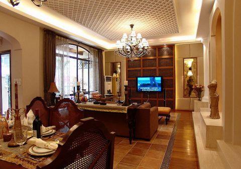 2020东南亚240平米装修图片 2020东南亚三居室装修设计图片