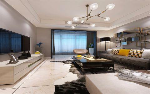 2020现代120平米装修效果图片 2020现代四居室装修图