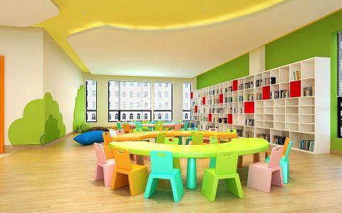 幼儿园简约风格工装装修效果图欣赏