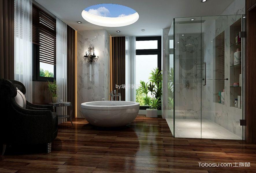 卫生间白色吊顶中式风格装修效果图