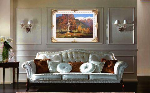 玄关照片墙欧式风格装修设计图片