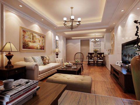 2021简约110平米装修图片 2021简约套房设计图片