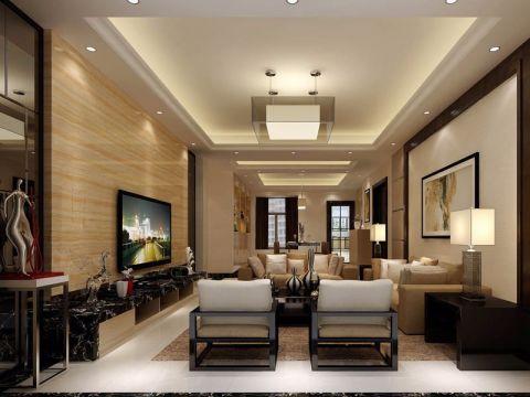 2021新中式150平米效果图 2021新中式套房设计图片