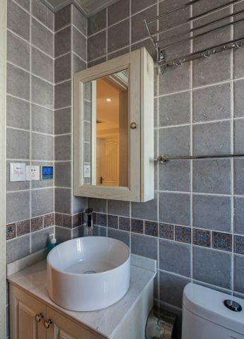 2021田园90平米效果图 2021田园三居室装修设计图片