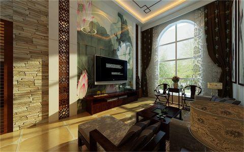 业主喜欢中国清代文化,喜欢品茶尚画,在装修这方面有自己的独特要求和想法,从事教育事业,非常文雅的一个人,喜欢实木和古典家具,根据对业主的了解和沟通,给业主推荐了新中式风格,整体木饰面以黑檀木为主体色,结合亚麻色的布艺沙发,以及中国风古典彩绘图案加入现代元素烤制成现代烤漆彩绘玻璃背景,简约的吊顶及木线,讲古典的风味倾注于整个空间,一推开门的瞬间,心灵一下就会宁静,仿佛远离了城市的喧嚣,给客户一个大气,宁静的私密空间。