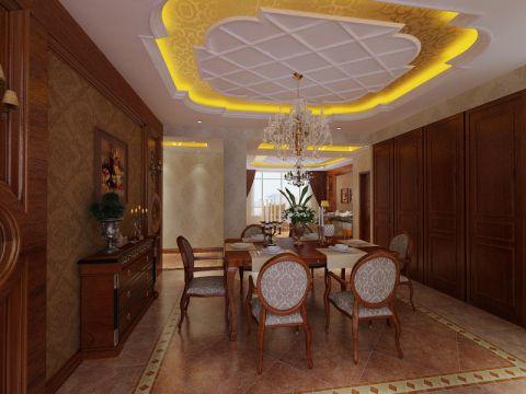 餐厅简欧风格装饰设计图片
