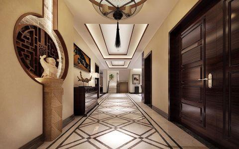 走廊中式风格效果图