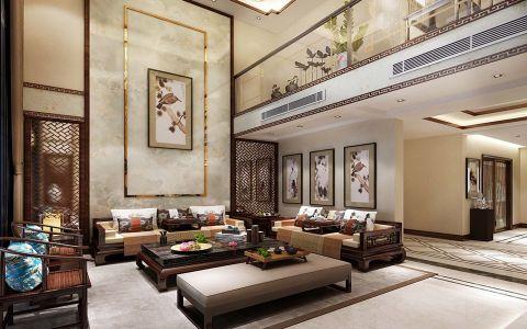 客厅中式风格装修图片
