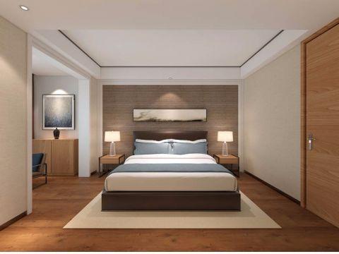 卧室背景墙简约风格装饰效果图