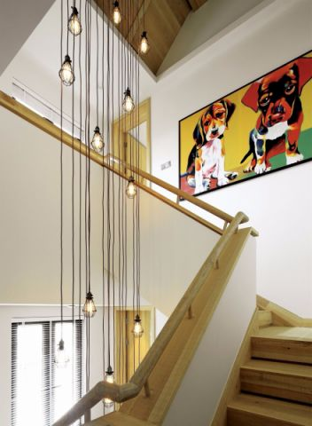 客厅楼梯东南亚风格装饰效果图
