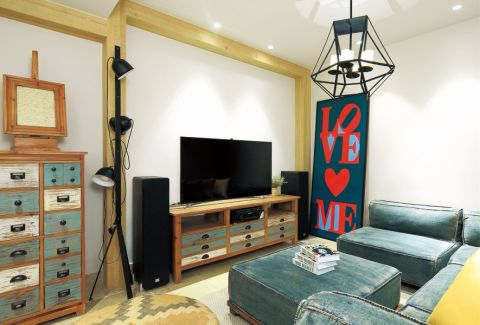 客厅东南亚风格装修图片