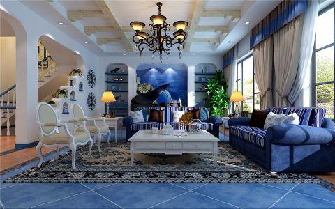 2021地中海120平米装修效果图片 2021地中海二居室装修设计
