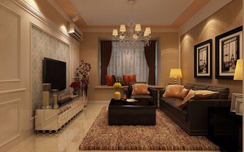 现代简约风格温馨两房家居装修效果图