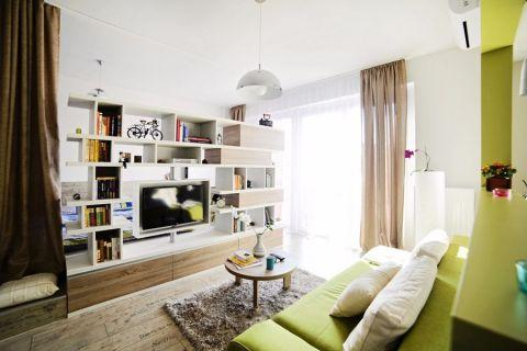 2020田园60平米装修效果图片 2020田园一居室装饰设计